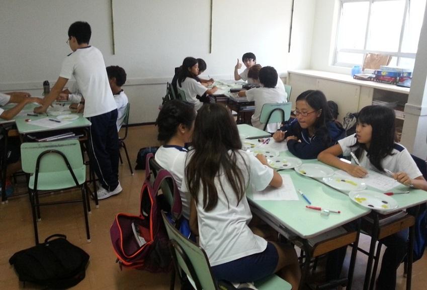Aula de matemática