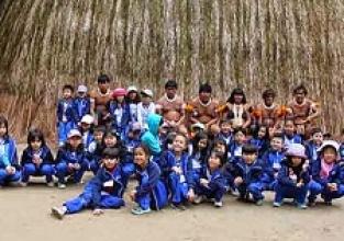Alunos conhecem a cultura indígena na Toca da Raposa