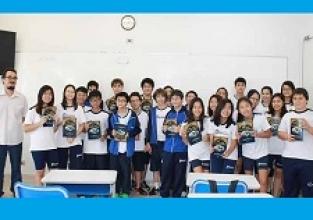 Parceria: estudantes auxiliam na revisão de livro