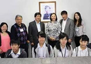Pioneiro recebe visita de alunos do Japão