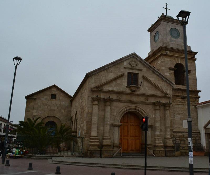 O centro de La Serena