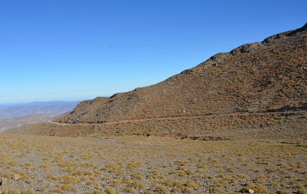 A paisagem das montanhas