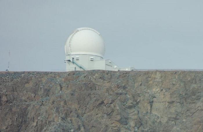 O domo do telescópio SOAR