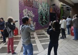 Oficina de fotografia na ESPM