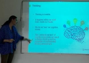 Workshop para a equipe de inglês