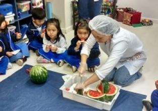 Educação alimentar no Infantil