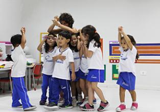 Educação Infantil participa de aula experimental de Expressão e Movimento