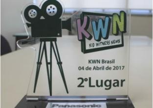 Pioneiro conquista segundo lugar em projeto de produção de vídeo