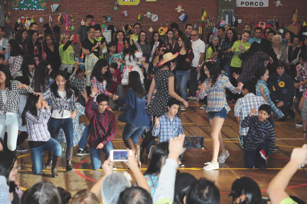 dança festa junina