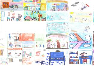 Elaboração de álbum de rimas amplia o repertório de leitura e escrita dos alunos