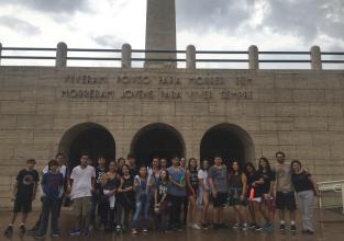 Ensino médio visita monumentos históricos de São Paulo