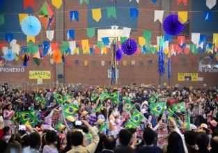 Festa junina foi só sucesso