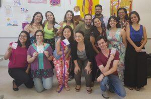 Professores do Pioneiro em formação de inglês