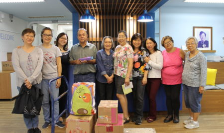 Pioart entrega doações para entidades assistenciais