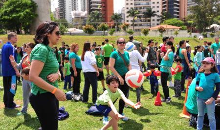 Educação física mostra importância do exercício para familiares e alunos