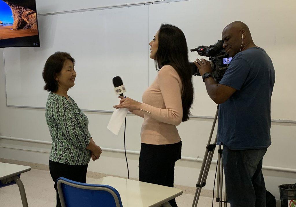 Professora Dalva em entrevista sobre Educação Financeira